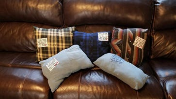 Redding family gets stolen pillows back -- for a price