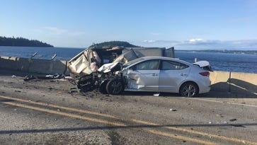 Port Ludlow woman killed in head-on collision on Hood Canal Bridge