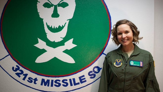 First Lt. Dorothy Kastl, of Binghamton, participated in the Air Force's first all-female missile alert.