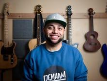 Finding his voice: Denham brings distinct sound to Sioux Falls scene