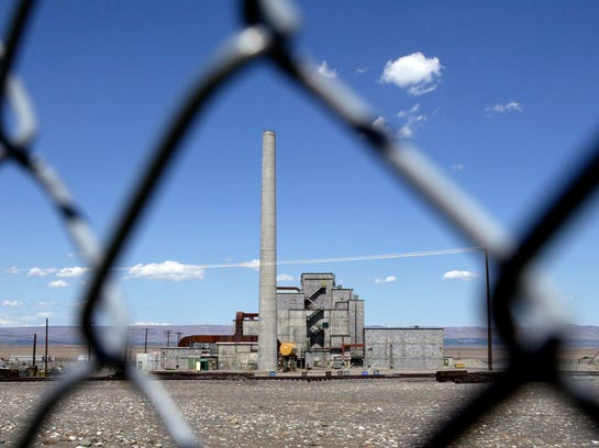 The historical B Reactor on the Hanford Nuclear Reservation