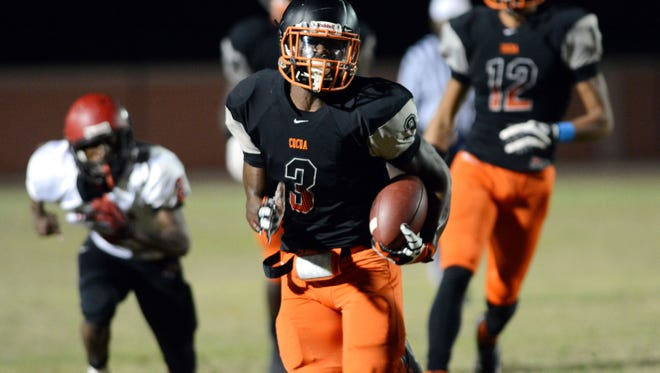 Cocoa's Chauncey Gardner is only a junior, but says he's already committed to the Florida Gators. But despite that commitment, he's keeping his options open.