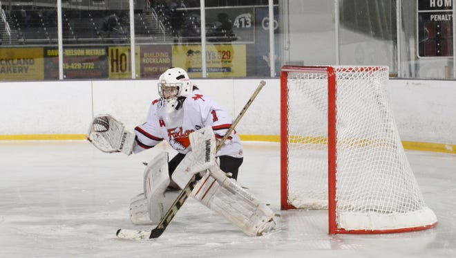 Abbie Ives is the lohud hockey player of the week after making 144 saves in three games.