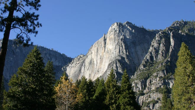 Yosemite National Park, Calif., where the beauty is marred by a man-made dispute over trademarking of the names of the park and its lodges.