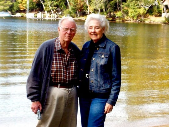 William and Cora Meyer around 2003 at Blue Mountain