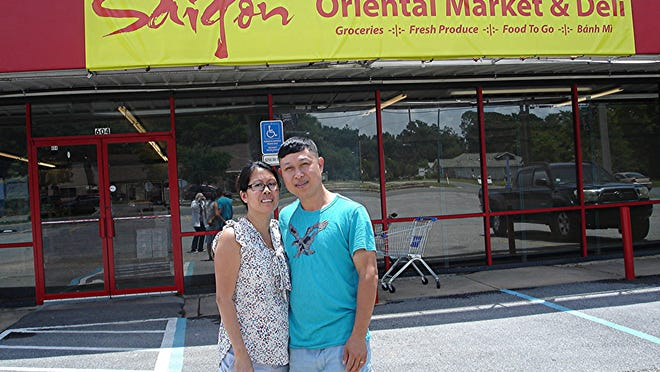 Thien Chu and Kim Tran have opened Saigon Oriental Market and Deli at 604 N. Pace Blvd.