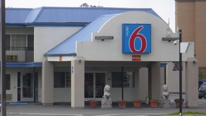Motel 6 on Noble Avenue.