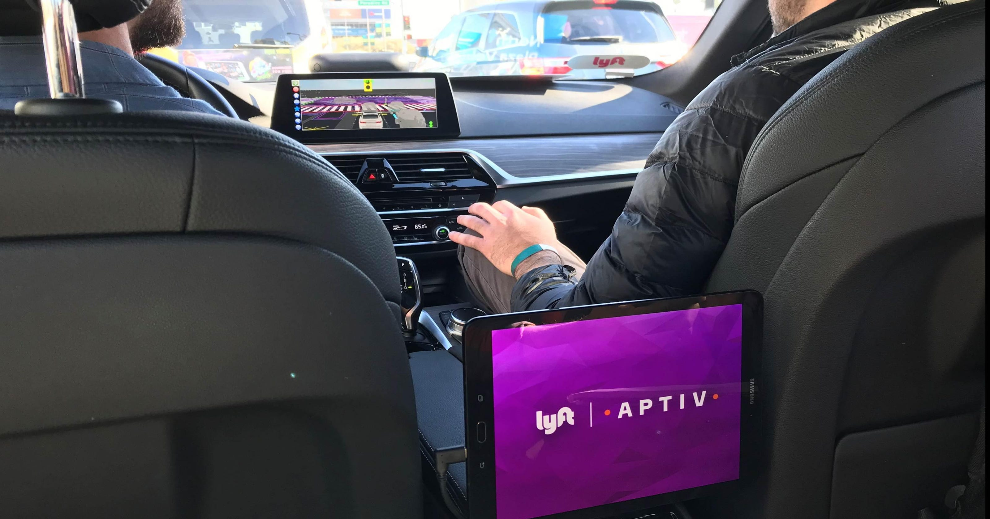 Aptiv Puts Its Self Driving System To Work At Ces