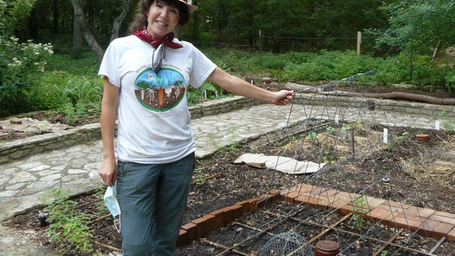 "The garden project is ""a way to celebrate our 75 years,"" says Madelynn Arnold of the Austin Organic Gardeners."