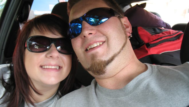 Epilepsy sufferer Ethan Robinson, shown with wife Nikki, says medicinal uses of marijuana need to be taken seriously.
