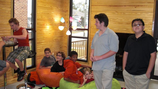 Lumberton Public Library celebrated the opening of its teen room on Dec. 5.