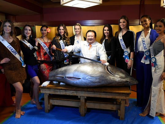 JAPAN-PAGEANT-MISS INTERNATIONAL
