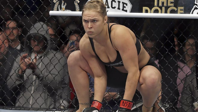 "Former UFC bantamweight champion and bronze medalist in judo Ronda Rousey released ""My Fight/Your Fight"" in May."