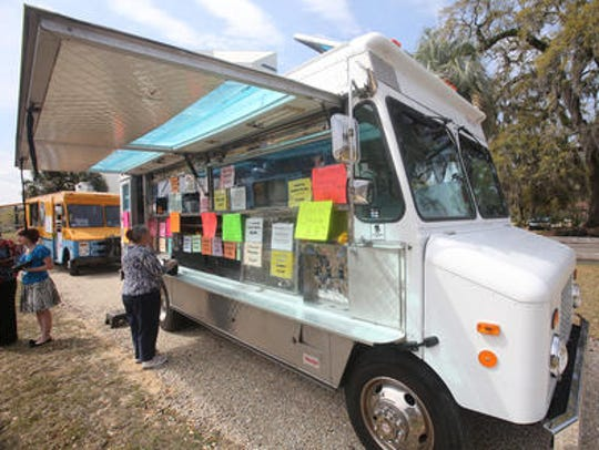 Food truck Thursdays offer a variety of local cuisine.