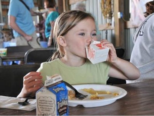 June Dairy month features a plethora of dairy breakfasts