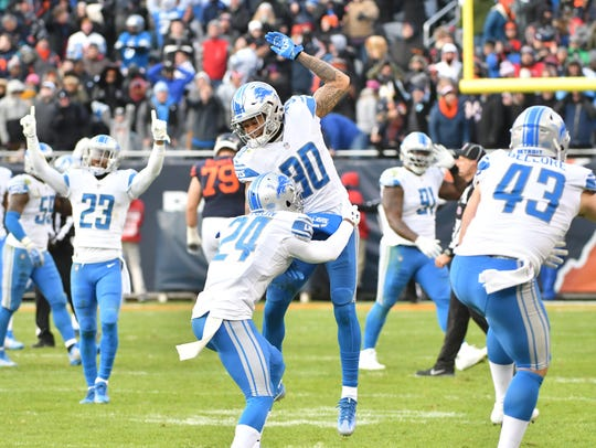 Second-year cornerback Teez Tabor (30) could see a