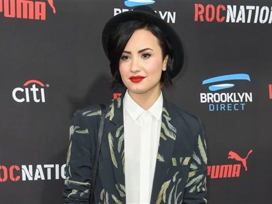 dress - Lovato demi mental health initiative video