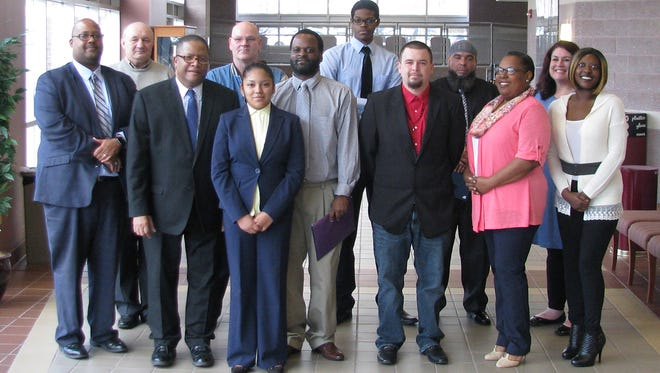 Cumberland County College recently recognized graduates of its Certified Production Technician program.