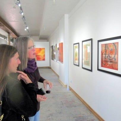 Cynthia Johnson's Limina Art Gallery celebrated a grand opening in Carrizozo