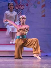 """Tallahassee Ballet dancer Jorge Arceo: """"Dancing is a way to relieve stress, and it creates a sense of discipline and character."""""""