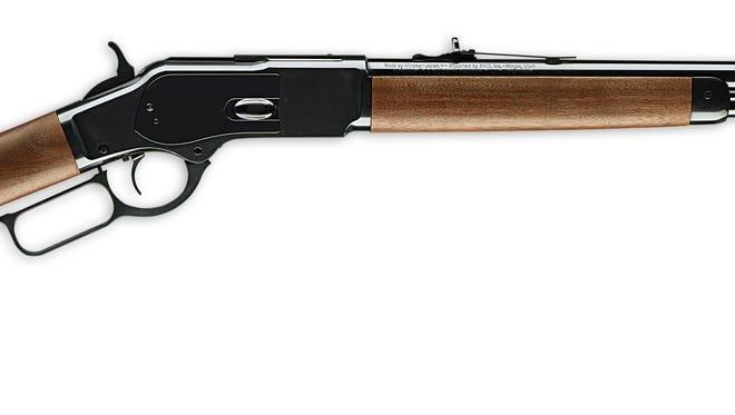 1873 model Winchester Short Rifle.