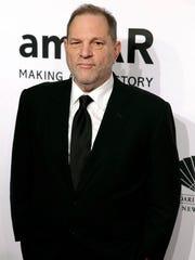 Harvey Weinstein on Feb. 10, 2016, in New York.