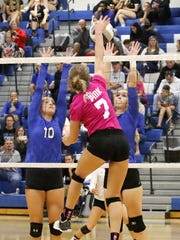 Makenzie Osgood (10) and Carolyn Bovaird of Horseheads