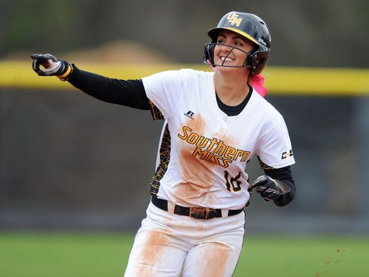 USM vs UAB softball 8