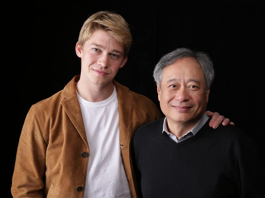 Oscar-winning director Ang Lee (right) with his 'Billy