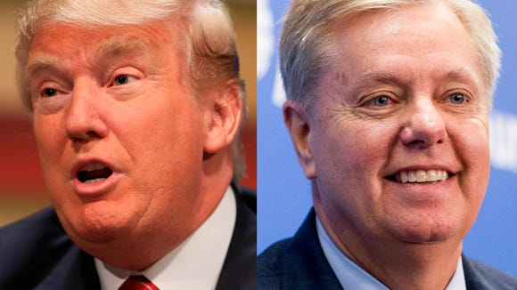 Sen. Lindsey Graham, R-S.C., has been an adviser, golfing buddy and critic to President Donald Trump.
