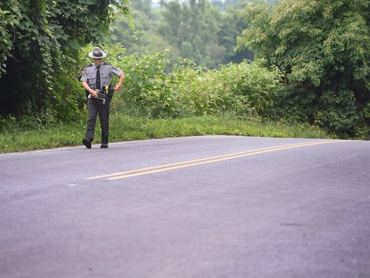 A single-vehicle accident in Jackson Township is being