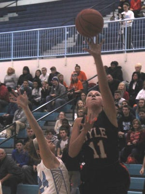 Ryle senior Mallory Schwartz leads the team with averages 12 points and 6.6 rebounds per game.