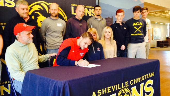 Asheville Christian Academy senior Corban Crosley has signed to play college soccer for Liberty.