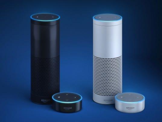 Amazon Echo Now In White Dot Price Slashed