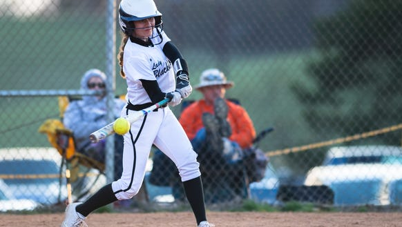 North Buncombe softball hosted Reynolds for their game