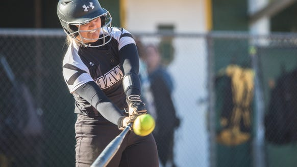 Reynolds hosted North Buncombe for their softball game