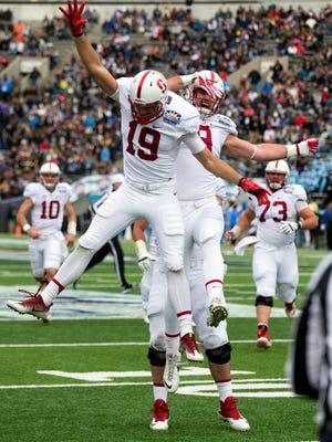 Stanford Cardinal wide receiver JJ Arcega-Whiteside (19).