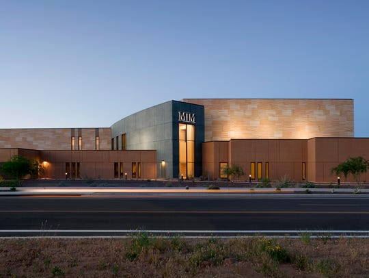 The Musical Instrument Museum is in northeast Phoenix.