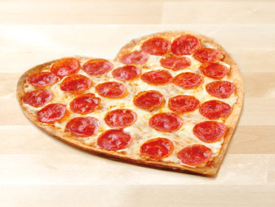papa john's offers heart-shaped pizzas on valentine's day, Ideas
