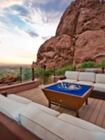 Camelback Vista is an $11 million cliff-side mansion