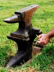 Shooting an anvil high into the air has become a tradition at the Museum of Appalachia near Norris.