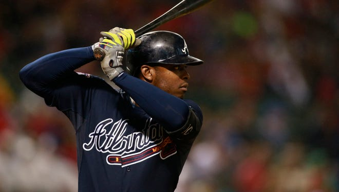 Justin Upton is one of the premier left fielders in the game and will be a free agent after the 2015 season.