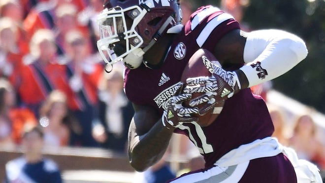 Mississippi State safety Kivon Coman is questionable for the team's game against BYU on Friday.