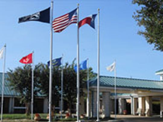 The Clyde W. Cosper Texas State Veterans Home is located in Tyler, Texas.