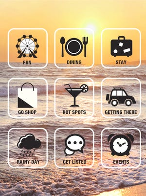 """The """"Go Jersey Shore"""" app has gotten a fresh makeover in time for the holiday season."""