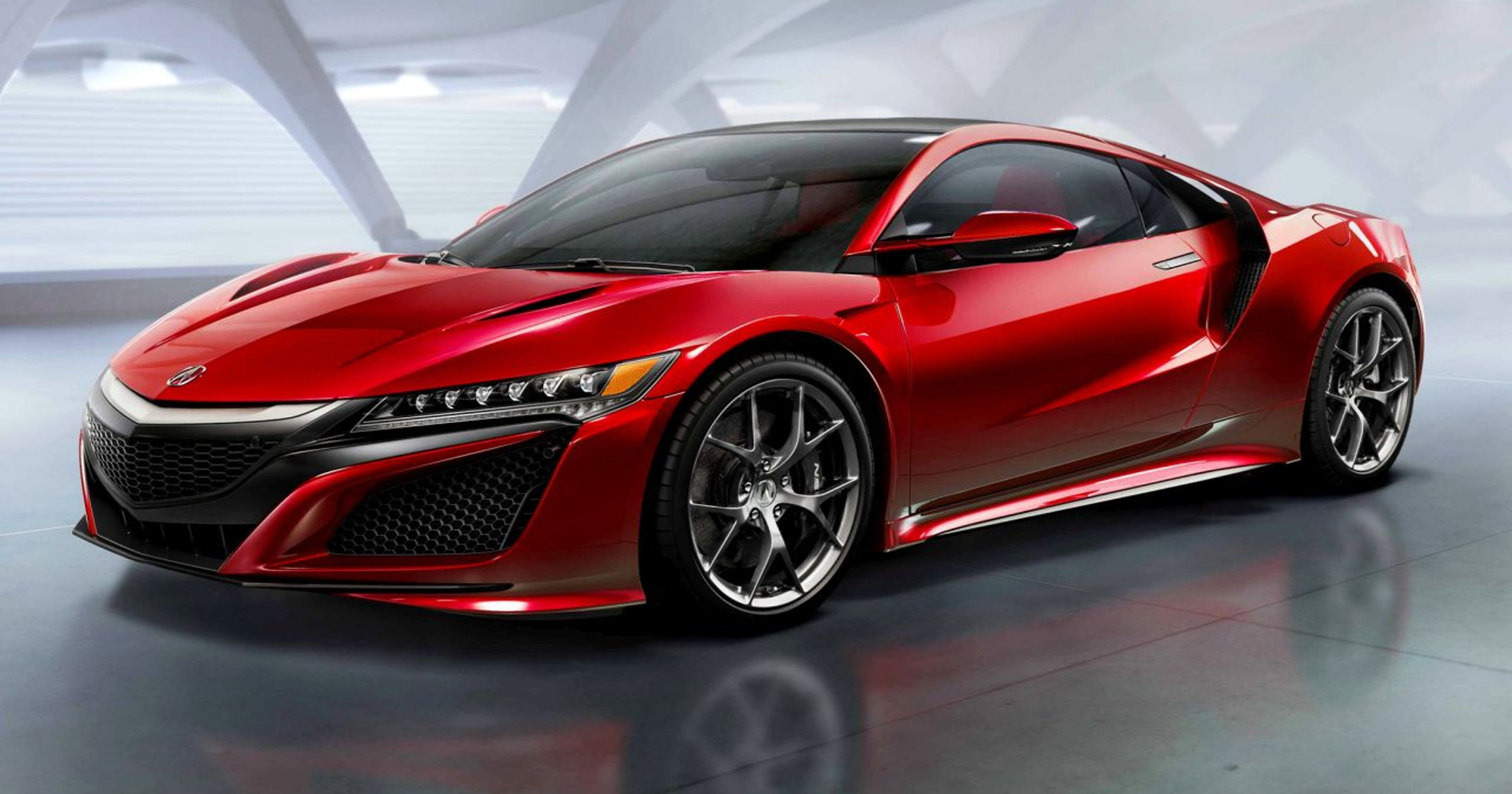 back to the future: 2016 acura nsx supercar