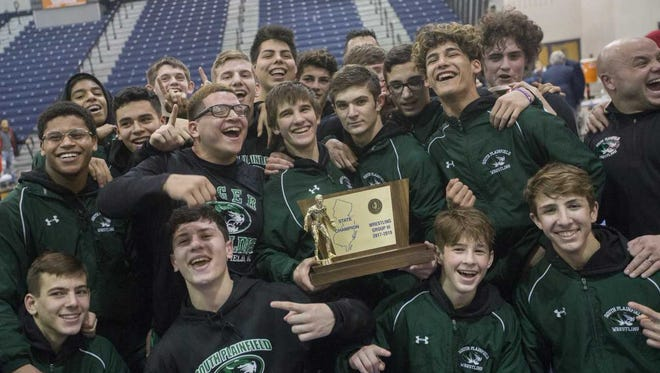 South Plainfield celebrates this straight state title