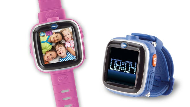 The Kidizoom smartwatch helps kids tell time, and even includes a camera for photos and videos.