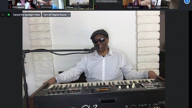 Ellis Hall, the Grammy nominated Ambassador of Soul and declared protege of the legendary Ray Charles, speaks to visually impaired students aspiring to kick start their own careers in the music industry
