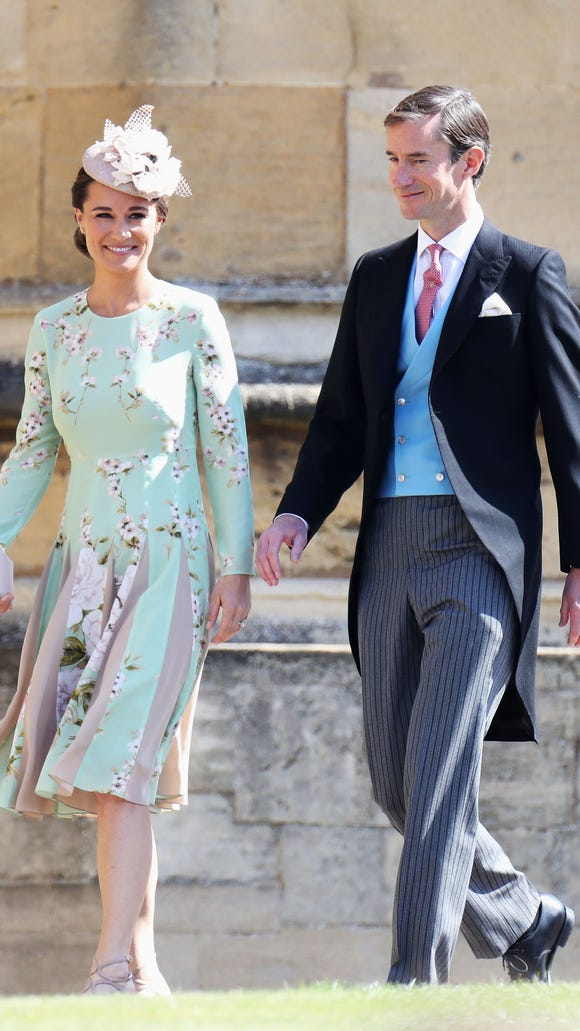 Pippa Middleton, with her hubby James Matthews, is
